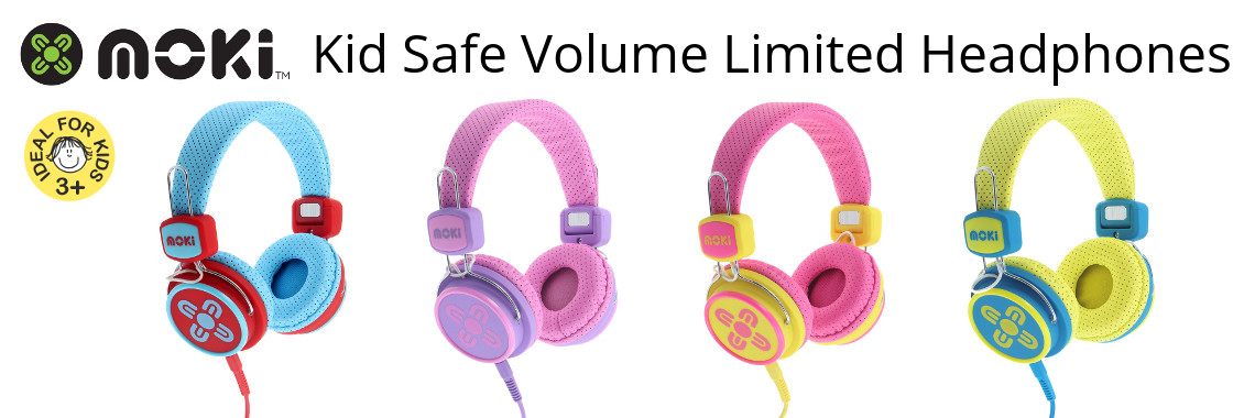 Moki Kid Safe Volume Limited Headphones