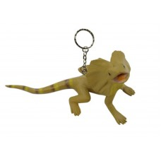 Frilled Neck Lizard Keyring
