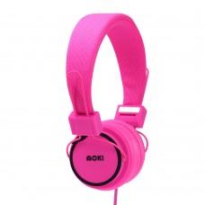 Moki Hyper Headphones - Pink