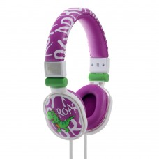 Moki Popper Headphones - Dinosaur Purple