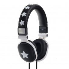 Moki Popper Headphones - Rockstar Black