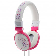 Moki Popper Headphones - Sparkles White