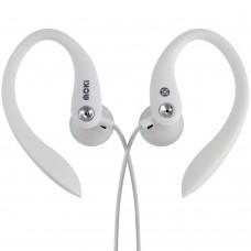 Moki Sports Earphones Classic White