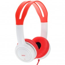 Moki Volume Limited Kids Red Headphones