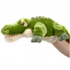 Crocodile Full Body Hand Puppet 32cm By Korimco