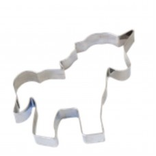 Unicorn Cookie Cutter - Stainless Steel