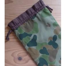 Extra Small Drawstring Bag - Army Camo