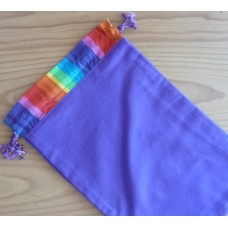 Extra Small Drawstring Bag - Purple - HPS