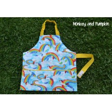 Kids Apron - Unicorns and Rainbows