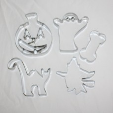 Halloween Cookie Cutter Set - 5 piece stainless steel