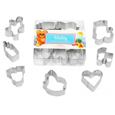 Mini Baby Cookie Cutter Set - 7 piece