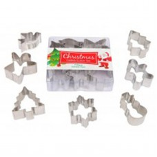 Mini Christmas Cookie Cutter Set - 7 piece