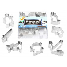 Pirate Mini Cookie Cutter Set - 7 piece