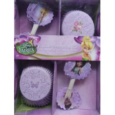 Disney Fairies Cupcake Decorating Kit - Set of 24