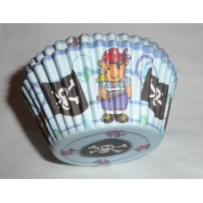 Pirate Cupcake Cases - Pack of 50