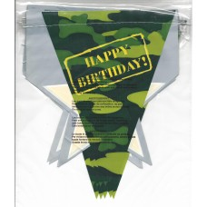 Army Camo Bunting