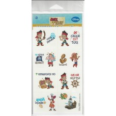 Jake and the Neverlands Pirates Temporary Tattoos
