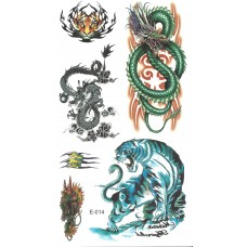 Temporary Tattoo - Animals 2