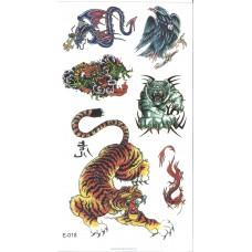 Temporary Tattoo - Animals 3