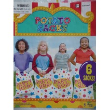 Potato Sack Race - Pack of 6
