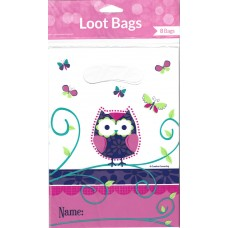 Owl Pal Birthday Loot Bags - Pack of 8