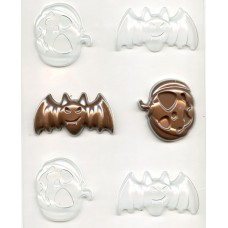 Halloween Bat and Pumpkin Chocolate Mould