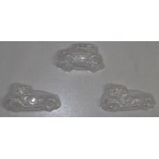 Car and Fire Truck Chocolate Mould