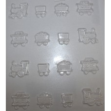 Train Chocolate Mould