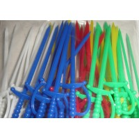 Plastic Sword Picks x 50