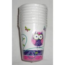 Owl Pal Birthday Cups