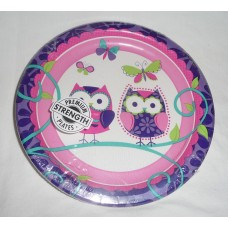 Owl Pal Birthday Luncheon Plates
