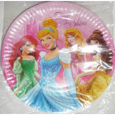 Disney Princess Sparkle Paper Plates