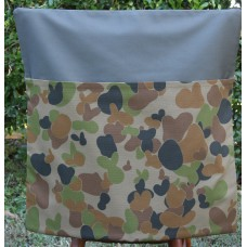 Army Camo on Khaki Chair Bag