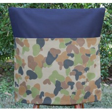 Army Camo on Black Chair Bag