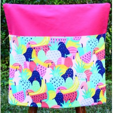 Chair Bag - Fruit on Hot Pink