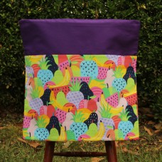 Chair Bag - Fruit on Purple