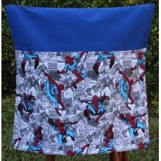 Pink Petunias School Chair Bag - Spiderman on Electric Blue