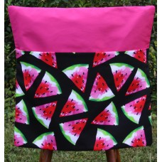 Chair Bag - Watermelons on Hot Pink