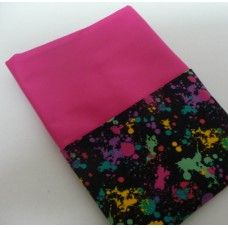 Pink Petunias School Chair Bags - Splatter on Hot Pink
