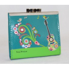 ShagWear Coin Purse Hippy Guitar