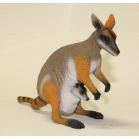 Yellow Footed Rock Wallaby Replica